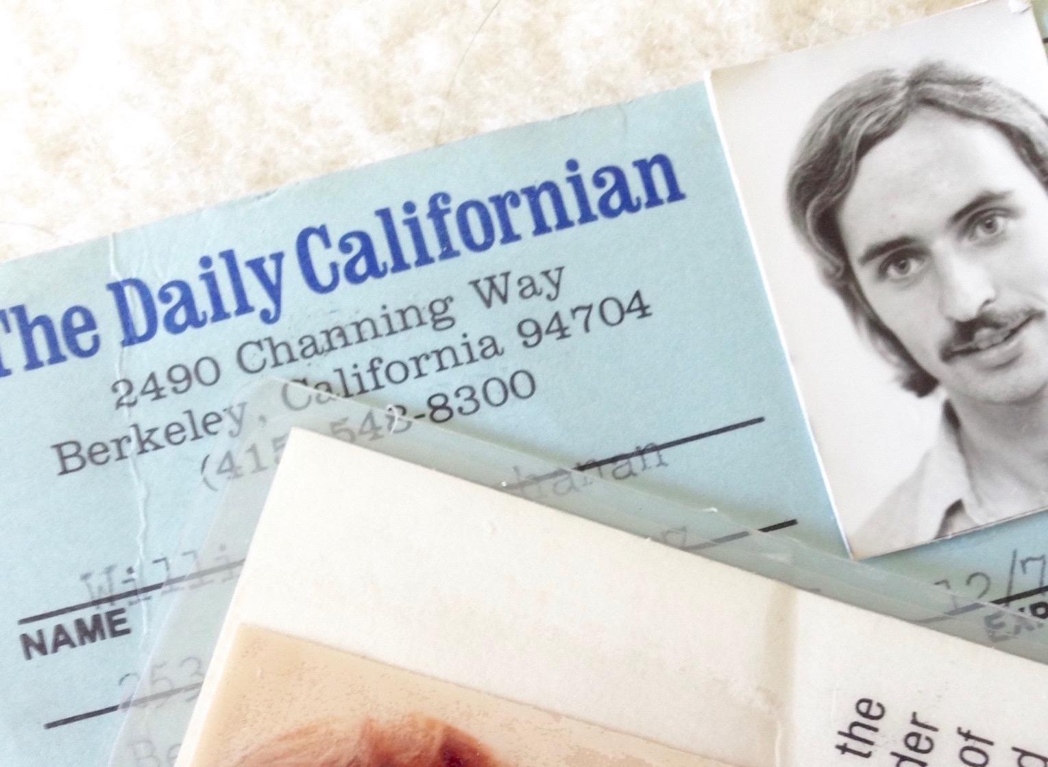 old press card