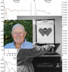 Murray Gardner + HIV lab