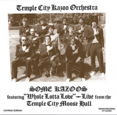 Temple City Kazoo Orchestra album art