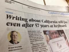 Dan Walters' last column in the Sacramento Bee