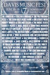 Davis Music Festival - DMF7 - poster