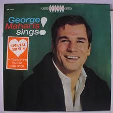 George Maharis cover art