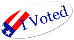 I Voted logo