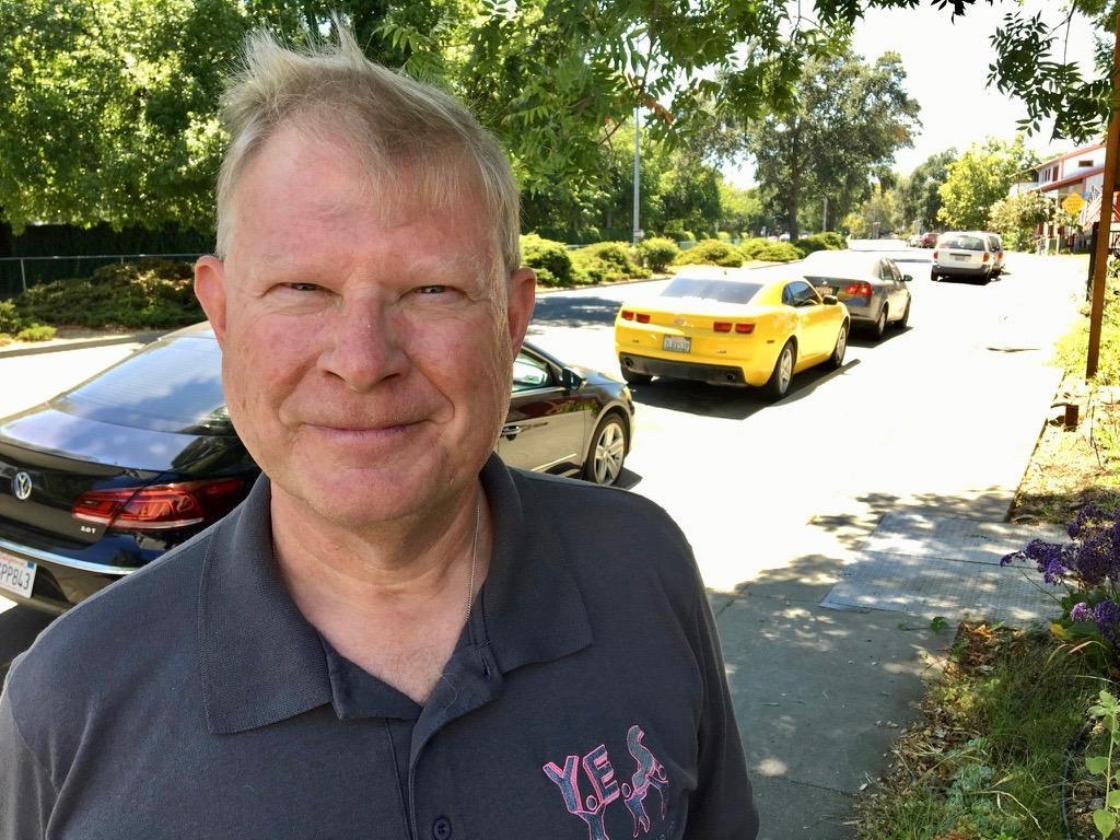 Davis City Council member Dan Carson