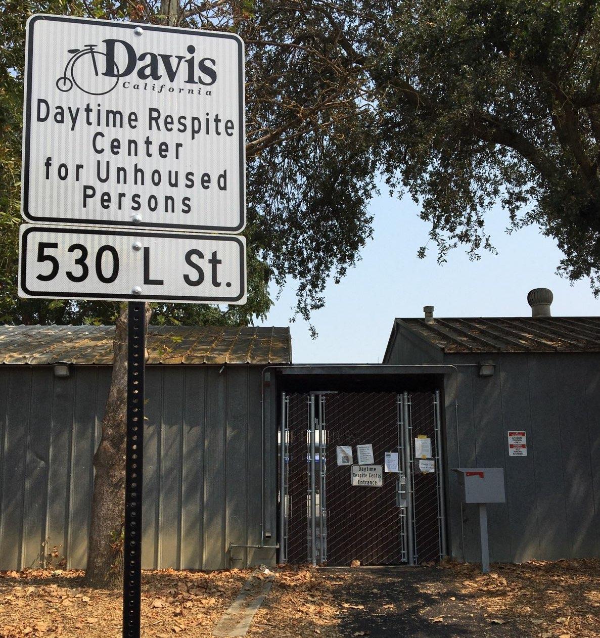 Respite Center in Davis, August 2020