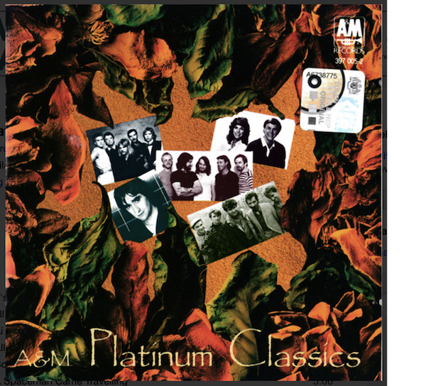 A&M Platinum Classics cover