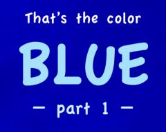BLUE title