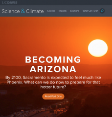 Front page of Becoming Arizona series