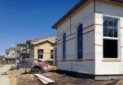 New housing in Davis, August 2017
