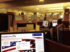Davis library interior