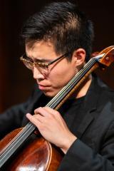 Eunghee Cho, Classical music, KDRT, Listening Lyrics. Pieter Pastoor, Photograph: Chris Kitchen (Used with permission of the Heifetz International Music Institute).