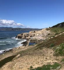 Pacific Ocean, San Francisco. Photo by Nancy Flagg