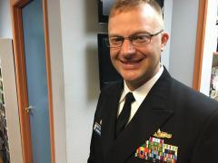 Commander Ryan Easterday