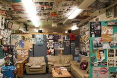 Inside KDVS (photo from UC Davis Magazine)