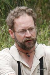 John McNerney in the field