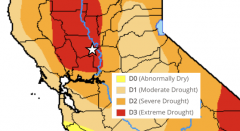 Drought map 2021