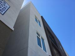 Multi-story housing in Davis