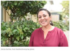 Gloria Partida, soon to be mayor of Davis, CA