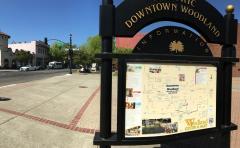 Downtown Woodland, CA, April 2021