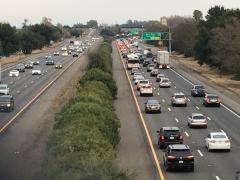Traffic on I-80
