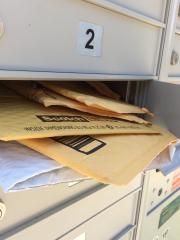 mailbox stuffed
