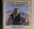 """Judy Fjell's """"Love That Goes the Distance"""" CD cover"""