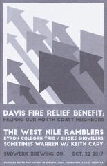 Davis Fire Relief Benefit image
