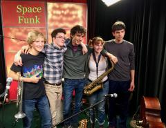 Space Funk to appear at 2nd Friday ArtAbout in May 2017