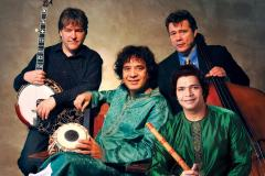 Bela Fleck with Meyer, Hussein, and Chaurasia Appear in Davis