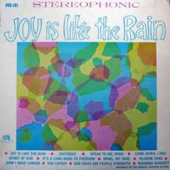 Joy Is Like the Rain cover
